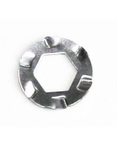 Spring washers for solid axles