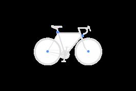 Set sichert Vorderrad + Hinterrad + Sattelstütze + Scheinwerfer und Halter
