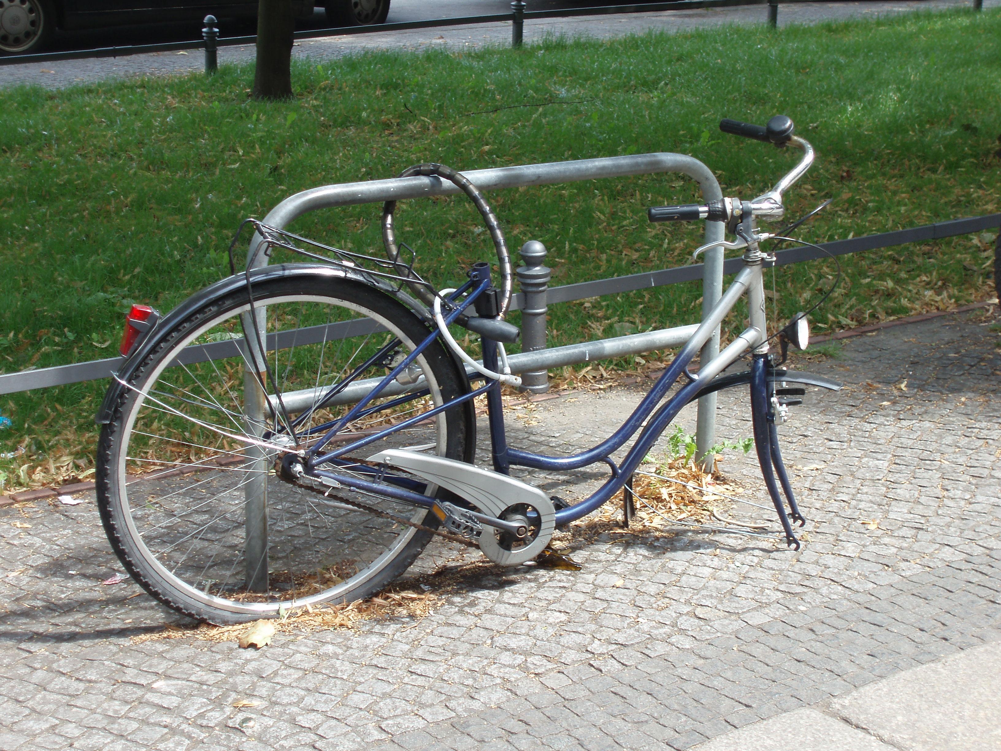 Schutz vor Fahrraddieben