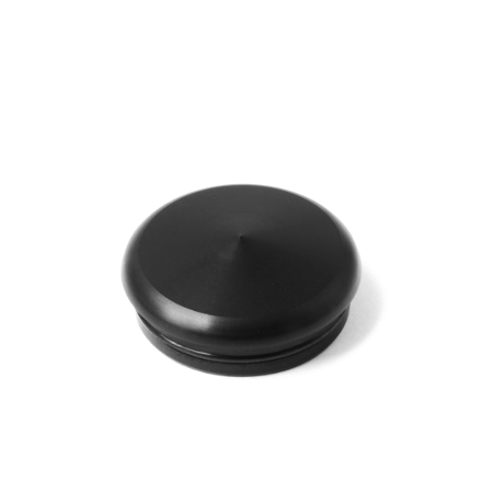 Alu Flat Cap Black