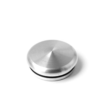 Alu Flat Cap Silber